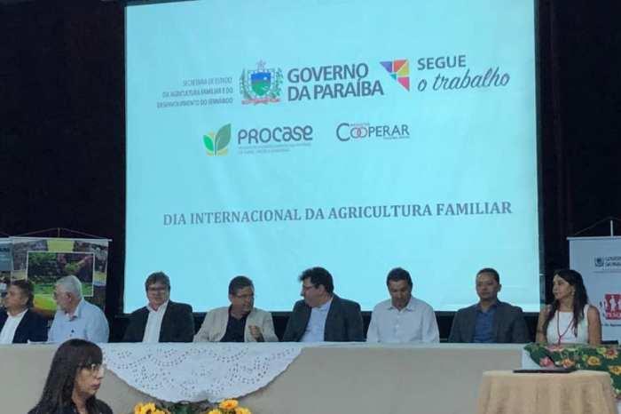 Éden Duarte representa prefeitos no lançamento do Programa PBTec – Agricultura Familiar