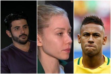 Ex-marido diz que Najila relatou agressão e não estupro de Neymar