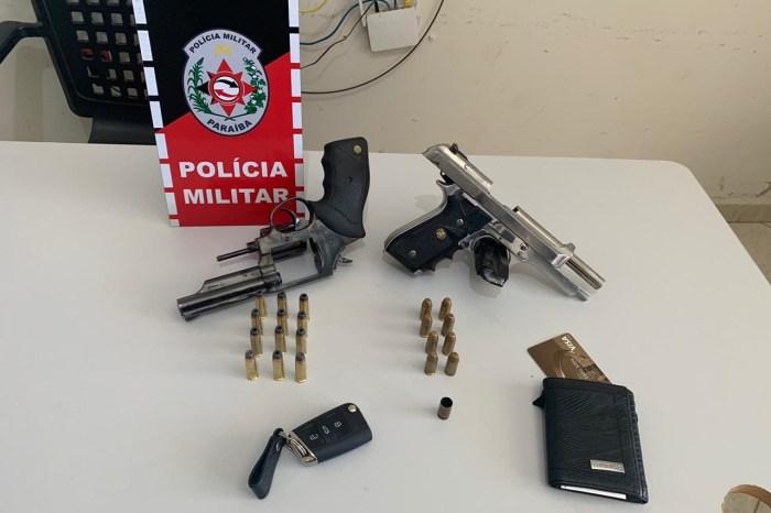 Polícia realiza apreensões de armas em várias regiões da Paraíba