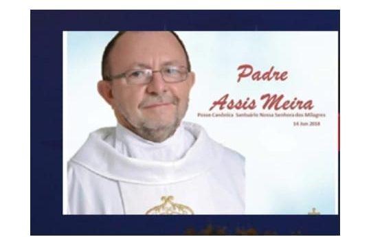 Câmara de São João do Cariri aprova título de cidadania para o Padre Assis Meira