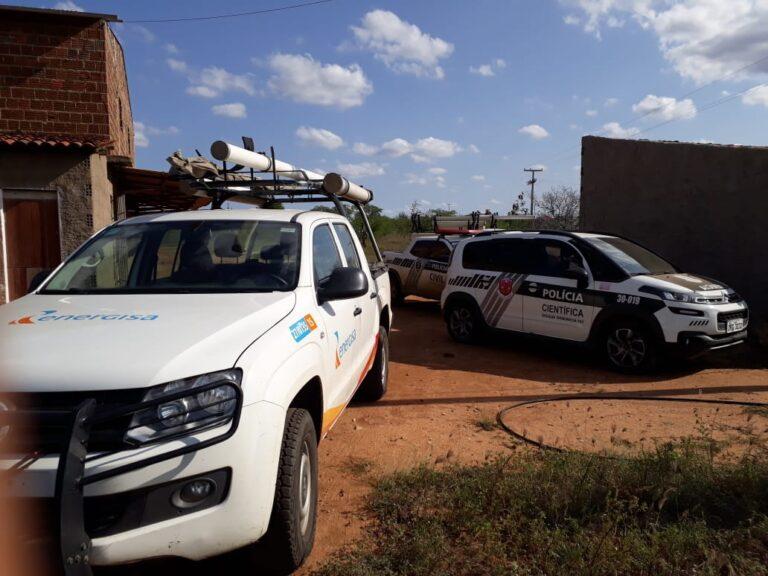 Quatro consumidores são autuados por furto de energia em cidade do Cariri