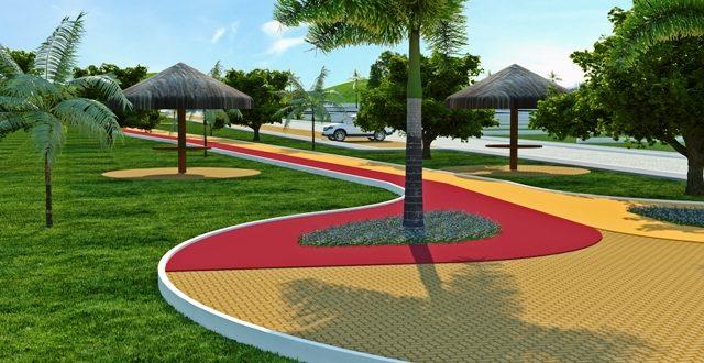 Prefeitura de Ouro Velho inicia construção da pista de caminhada com recursos próprios