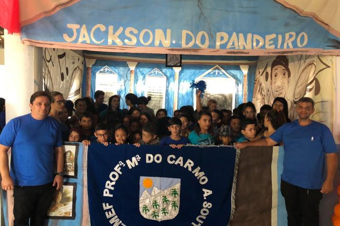 Gincana Estudantil do Fundamental em Soledade exalta obra de Jackson do Pandeiro