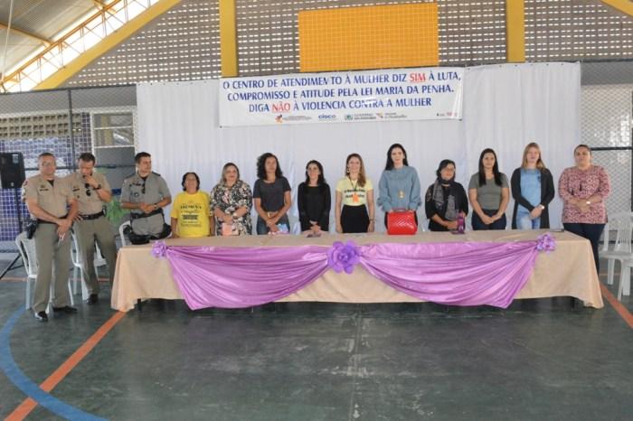 Centro de Referência de Atendimento às Mulheres do Cariri realiza semana de mobilização