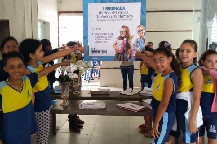 Rede Municipal de Monteiro realiza diversas atividades envolvendo alunos e famílias