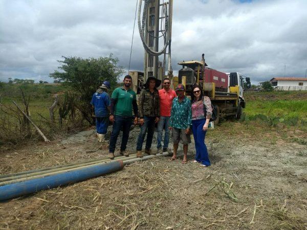 Governo estadual e Prefeitura de Livramento realiza perfurações de poços em comunidades rurais