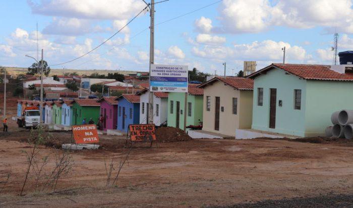 Com recursos próprios, Prefeitura do Cariri entregará conjunto habitacional em setembro