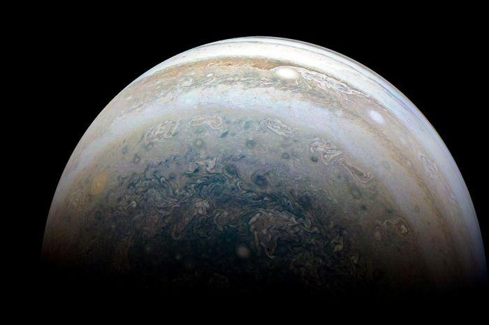Agência Espacial Norte-Americana faz novo registro de Júpiter