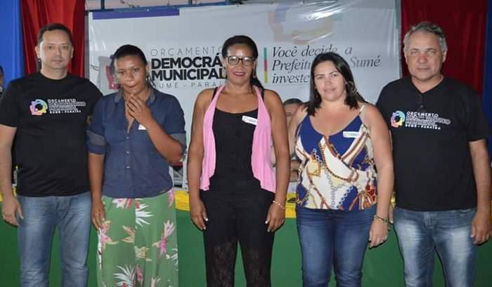Prefeito Éden Duarte participa da 12ª plenária do Orçamento Democrático
