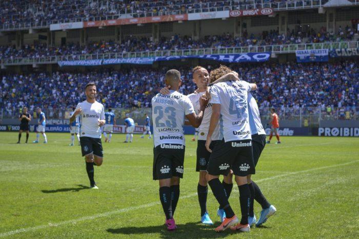 Sem dó nem piedade: Grêmio goleia o Cruzeiro em BH