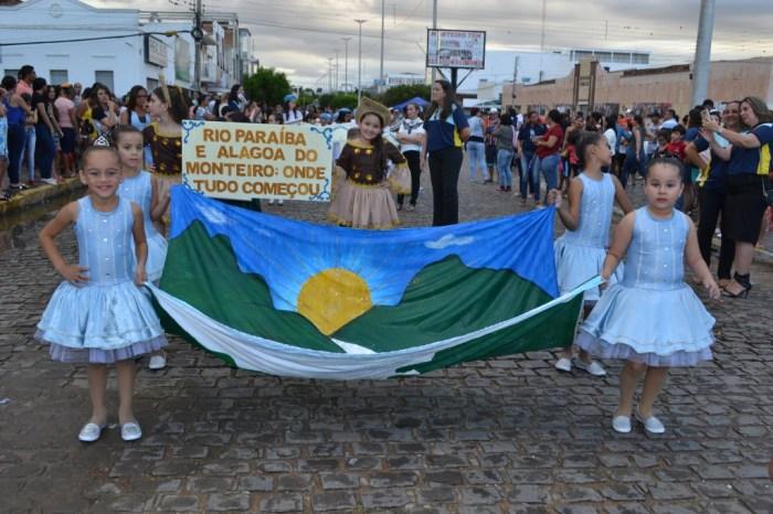 Monteiro comemora Dia da Independência do Brasil