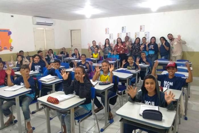 Coordenador Estadual do Programa Educar Pra Valer visita escolas municipais de Monteiro
