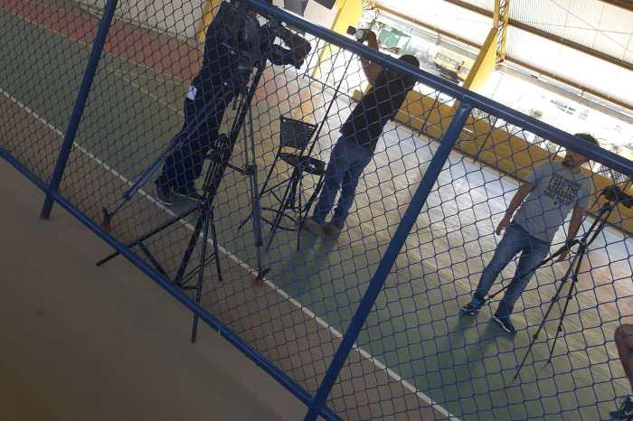 Rede Globo desembarca em Cabaceiras para gravar sobre inicio da carreira do goleiro Santos