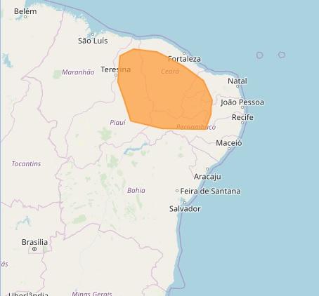 Umidade em nível de deserto coloca 10 cidades do Cariri em alerta