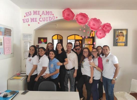 MONTEIRO: Servidores do CAPS participam de Curso de Aperfeiçoamento em Saúde Mental e Rede de Atenção Psicossocial