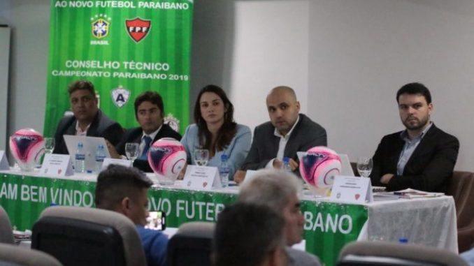 FPF agenda data de reunião que vai definir formato do Paraibano 2020