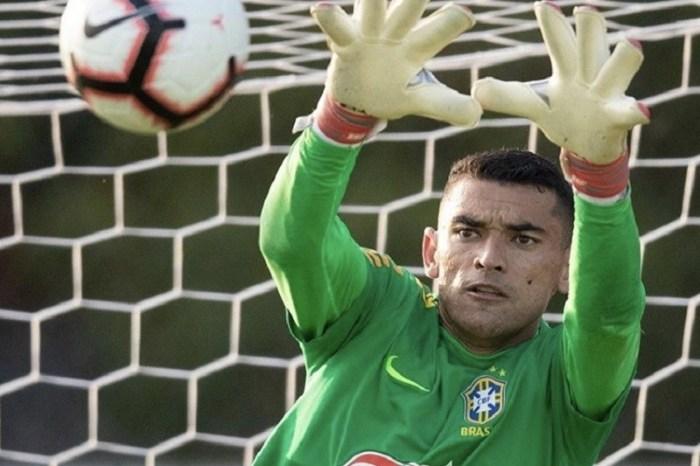 Goleiro caririzeiro se destaca no 1° treino com a Seleção