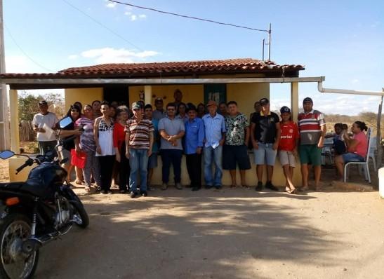 Prefeitura de Ouro Velho realiza cadastramento das famílias que irão se beneficiar com água dos dessalinizadores