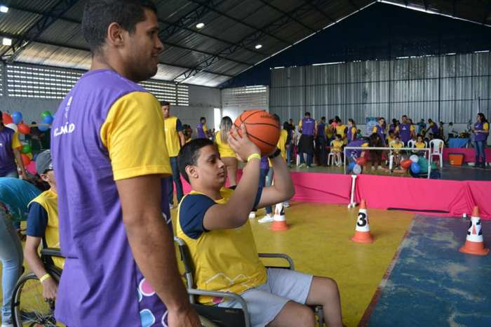 Alunos da Rede Municipal de Ensino de Monteiro participam do Paraíba Paralímpica