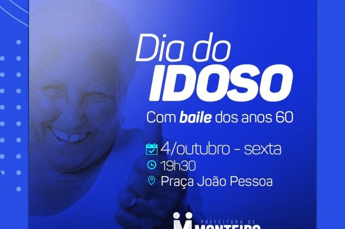 Dia do Idoso será comemorado em Monteiro com festa a fantasia na próxima sexta
