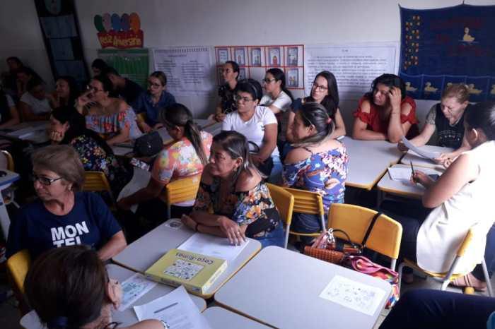 Professores da Rede Municipal de Monteiro participam de Formação do Soma