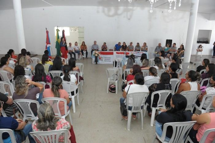 Professores da rede Municipal de Monteiro participam de palestra sobre Novo FUNDEB