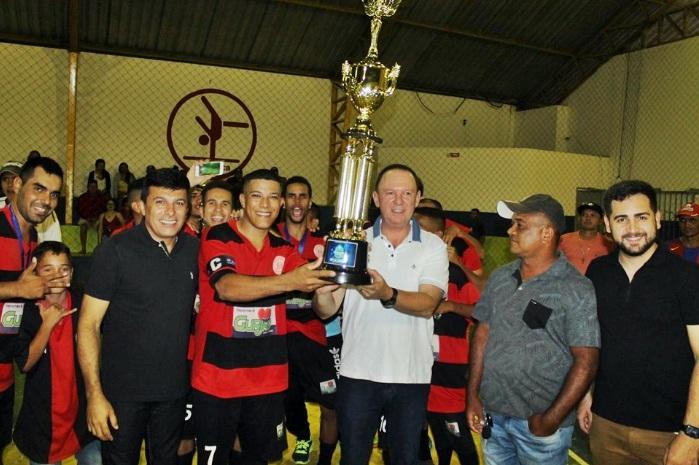 Mar Vermelho é campeão Municipal de futsal 2019 em Gurjão