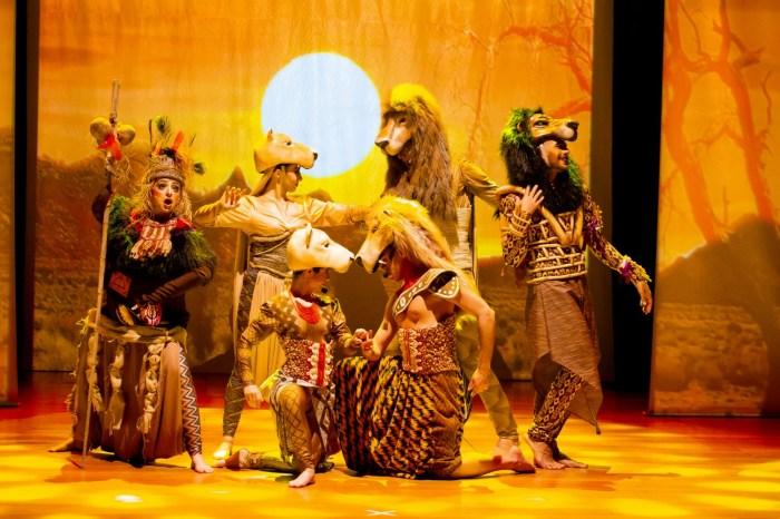 Rei Leão - O Musical' se apresenta em João Pessoa