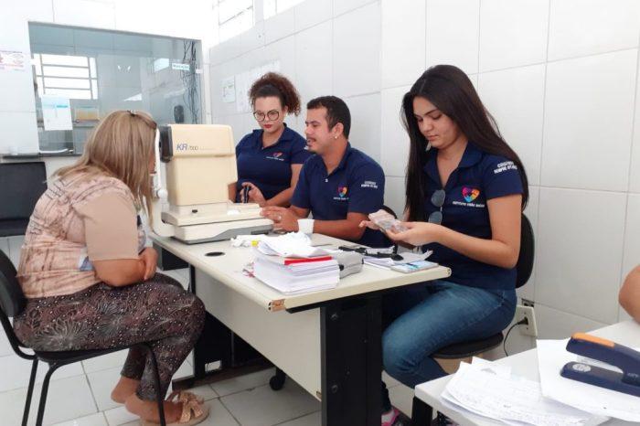 Prefeitura de São Sebastião do Umbuzeiro realiza mutirão de exame de vista