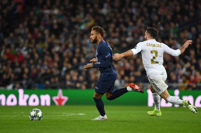 Em volta de Neymar à Champions, PSG arranca empate do Real Madrid