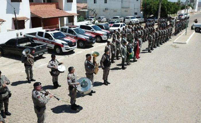 11° Batalhão de Polícia Militar em Monteiro comemora nove anos de fundação