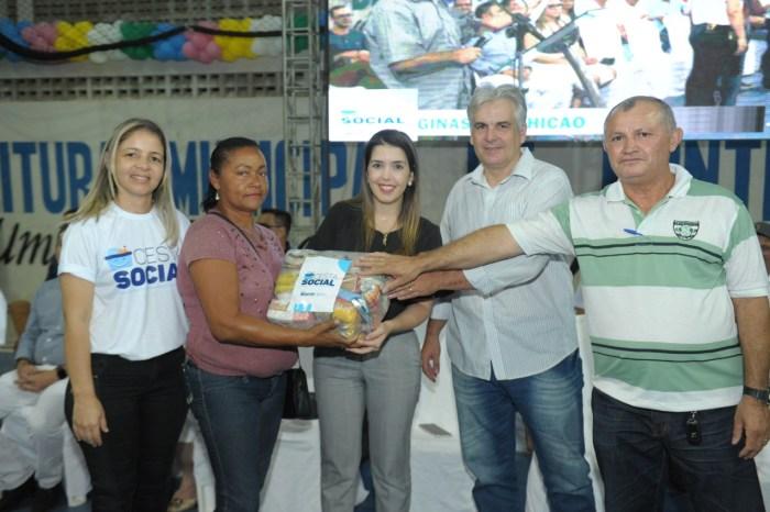 Anna Lorena lança programa CESTA SOCIAL para atender famílias carentes de Monteiro