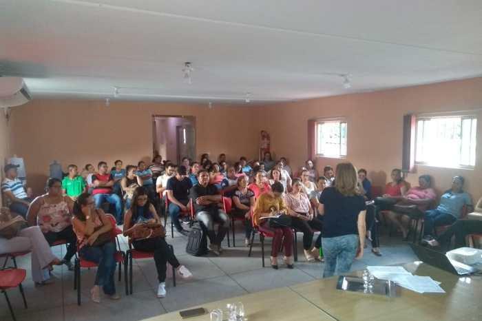 Servidores de Sumé participam de encontro sobre segurança dos trabalhadores da saúde