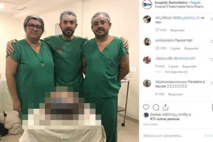 Médicos retiram cisto com mais 20 kg em cirurgia na Paraíba