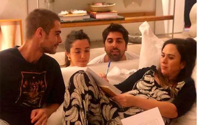 Tatá Werneck revela que já está casada com Rafael Vitti