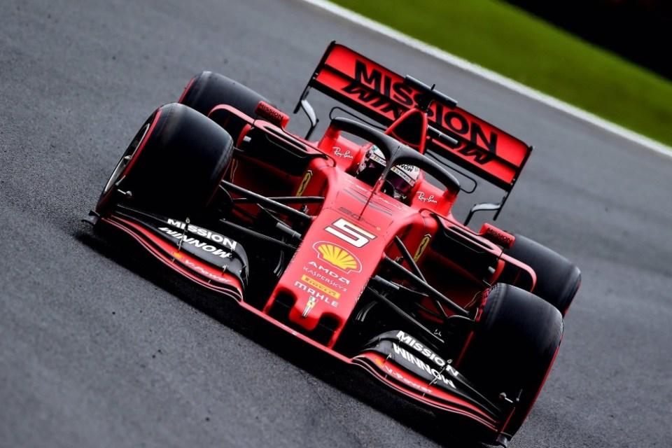 Vettel é o mais rápido no 2º treino para o GP do Brasil