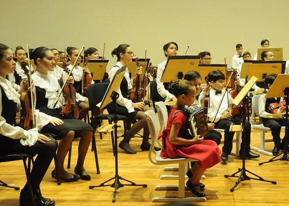 Orquestra Infantil da Paraíba fará dois concertos natalinos no Espaço Cultural