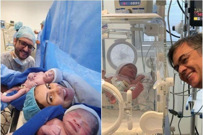 Nascem netos do ex-senador Cássio Cunha Lima