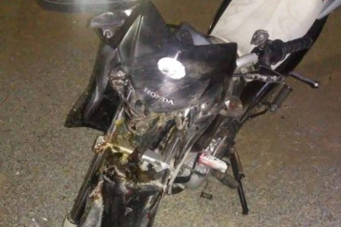Motociclista morre em acidente após colidir contra cavalo em Juazeirinho