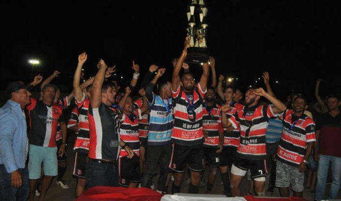 Santa Cruz ganha Campeonato de Futebol de Cabaceiras 2019