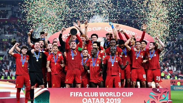 Liverpool não usará escudo de campeão do mundo