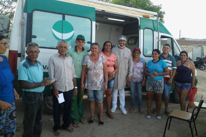 """MONTEIRO: Programa """"Mais Sorrisos no Campo"""" chega às comunidades de Picos e Limitão"""