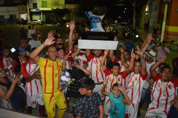 Vila Nova do Ahú vence e conquista o título da Super Copa Serra Branca de Futebol 2019
