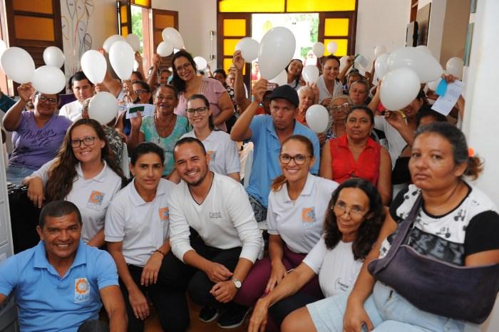 """CAPS I de Monteiro realiza """"Janeiro Branco"""" com famílias e pacientes usuários do serviço"""