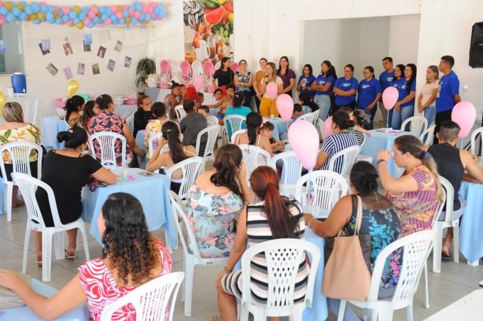 Secretarias Municipais de Monteiro inicia trabalhos com evento para gestantes