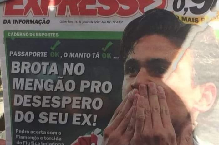 """Pedro anuncia volta: """"Brota no Mengão para desespero do seu ex"""""""