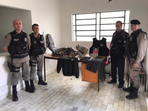 Operação conjunta entre Polícia Militar e Civil desarticula desmanche de motos em Soledade