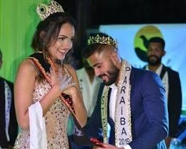 Jovem modelo de São João do Tigre vence concurso de beleza Miss Eco Praraíba 2020