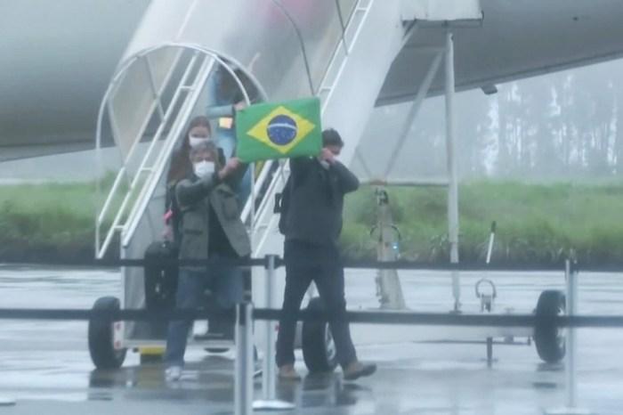 Repatriados da China chegam a Goiás e iniciam quarentena