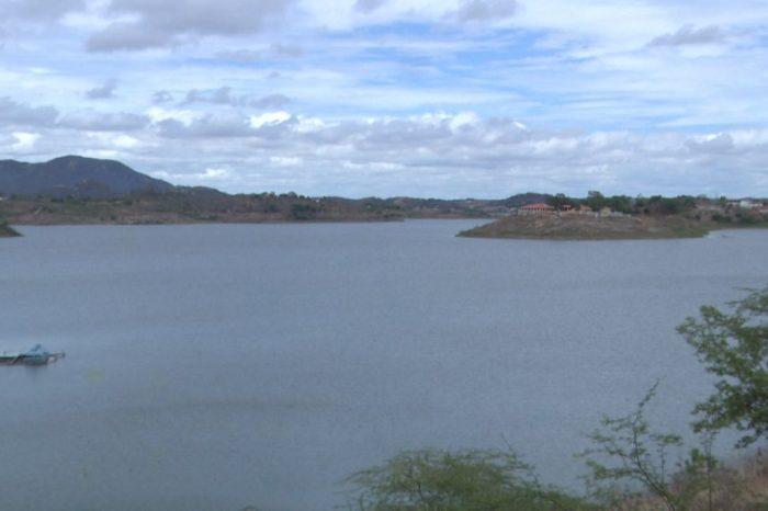 Com chuvas no Cariri, volume de água do açude de Boqueirão já ultrapassa os 50% de sua capacidade